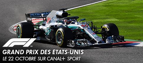 Formule 1 - GRAND PRIX DES ETATS-UNIS